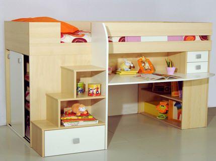 25 beste idee n over stapelbed bureau op pinterest tiener stapelbedden meisjes stapelbed en - Ruimtebesparende mezzanine ...