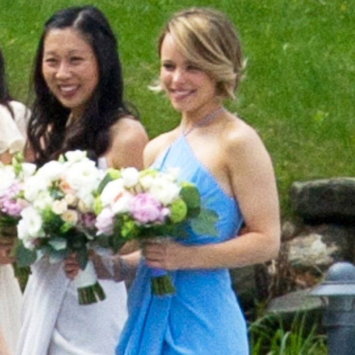 Pin for Later: Rachel McAdams Is Overcome With Sweet Emotion at Her Sister's Wedding