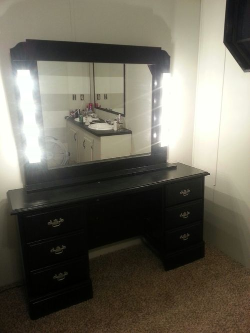 My Diy Vanity Project Little Things Pinterest Diy