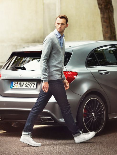 Santoni for mercedes amg great sneakers men 39 s fashion for Mercedes benz amg clothing