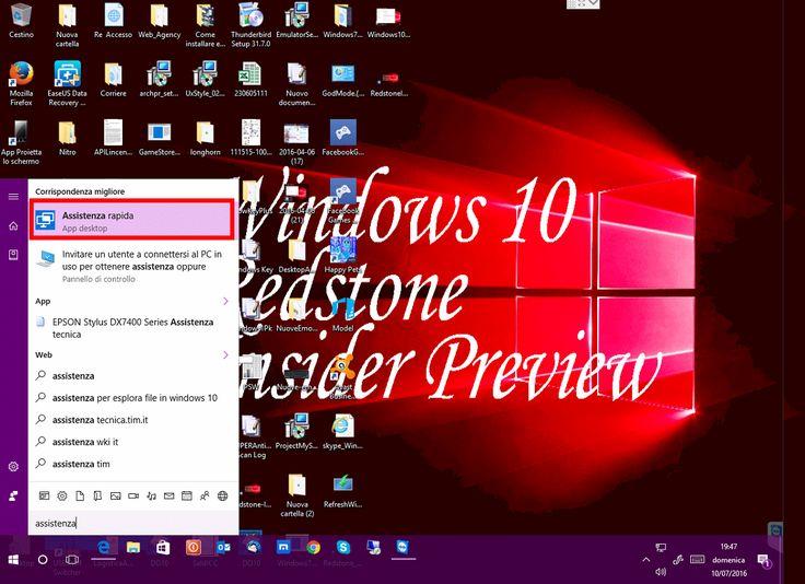 #HardwarePcJenny Blog & News - #Windows10 #Anniversary #Update ha una nuova app di #Assistenza rapida. Anteprima nella #Build14385 - Nell'ultima Build 14385 di Windows 10 Anniversary Update, rilasciata agli Insider, #Microsoft ha integrato la nuova app Assistenza rapida. E' un'alternativa a TeamViewer oppure a #MicrosoftRemoteDesktop.  http://hardwarepcjenny.com/network/blog-news/windows-10-anniversary-update-ha-una-nuova-app-di-assistenza-rapida-anteprima-nella-build-14385/