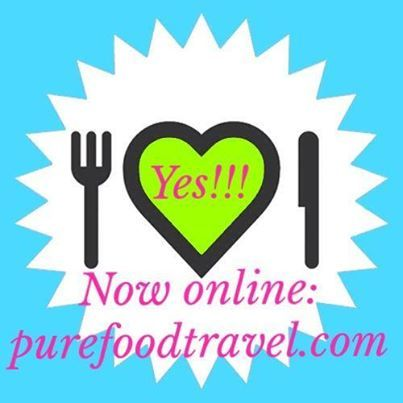 Blog purefoodtravel.com is online: Where to enjoy pure food all around the world: organic, local, fair trade, mostly veggie & always delicious!