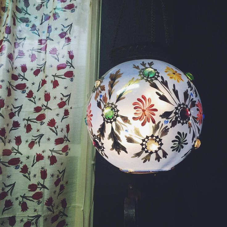 olourful Indian light fitting, the colours when turned on are just magical  #light #lightfitting #indian #homewares #interiors #rustichome #indianpattern #indianinteriors #rustavalon
