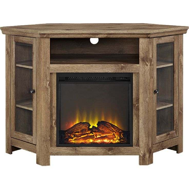Fireplace TV Stand fireplace tv stand : The 25+ best Corner fireplace tv stand ideas on Pinterest | Corner ...
