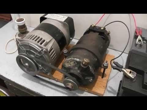 FREE ENERGY ,ENERGIA LIBRE(MOTOR, ALTERNADOR) - YouTube