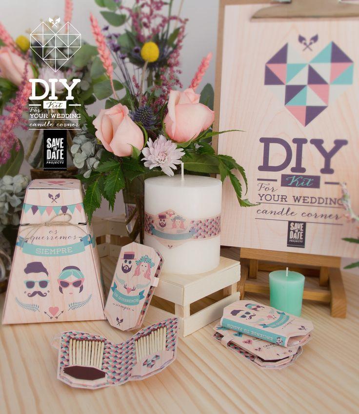 DIY – Hazlo tú mismo: Kit para una boda diferente