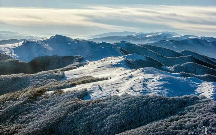 Bieszczady Mountains, Poland.