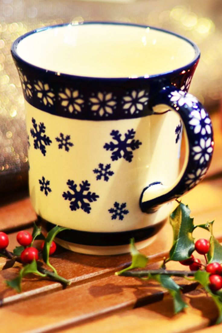 Ceramic mug. Artistic hand made and hand decorated.