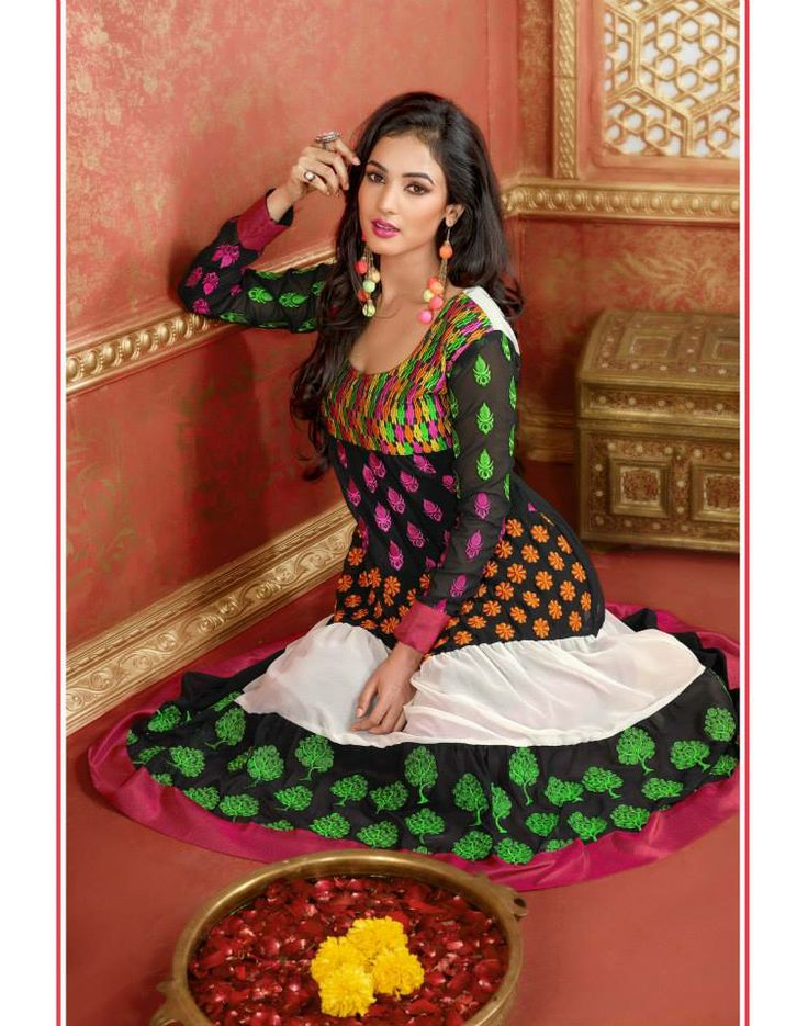 #colorful #anarkali