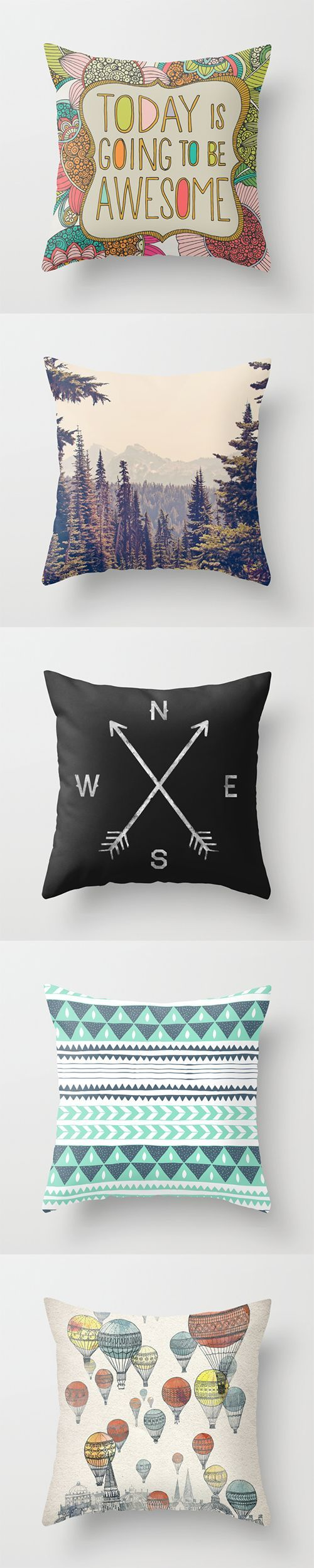 Throw Pillows and millions of other products available at Society6.com today.