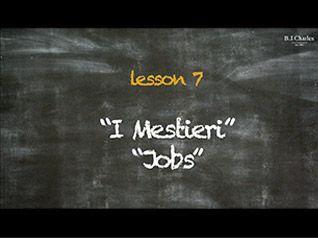 Giochiamo in inglese insieme a Miss Charles. Nell'episodio 7 impariamo il nome di alcuni mestieri. http://www.bjcharles.it/
