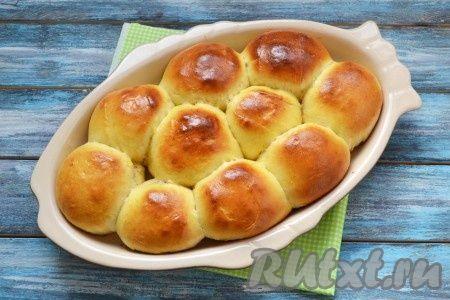 Рецепт булочек с джемом