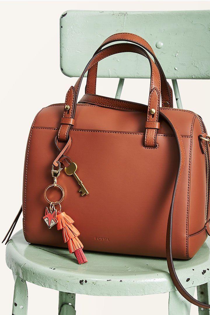 5fc74128863 An everyday staple  the Rachel satchel leather handbag.   Fall 2017 ...