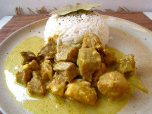 Sauté de porc au curry avec cookeo