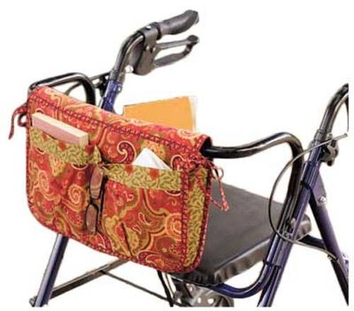 These bags are great for gift giving and can be made in your loved one's favorite colors! The carryall pattern hangs over rail, has fleece inner lining, po