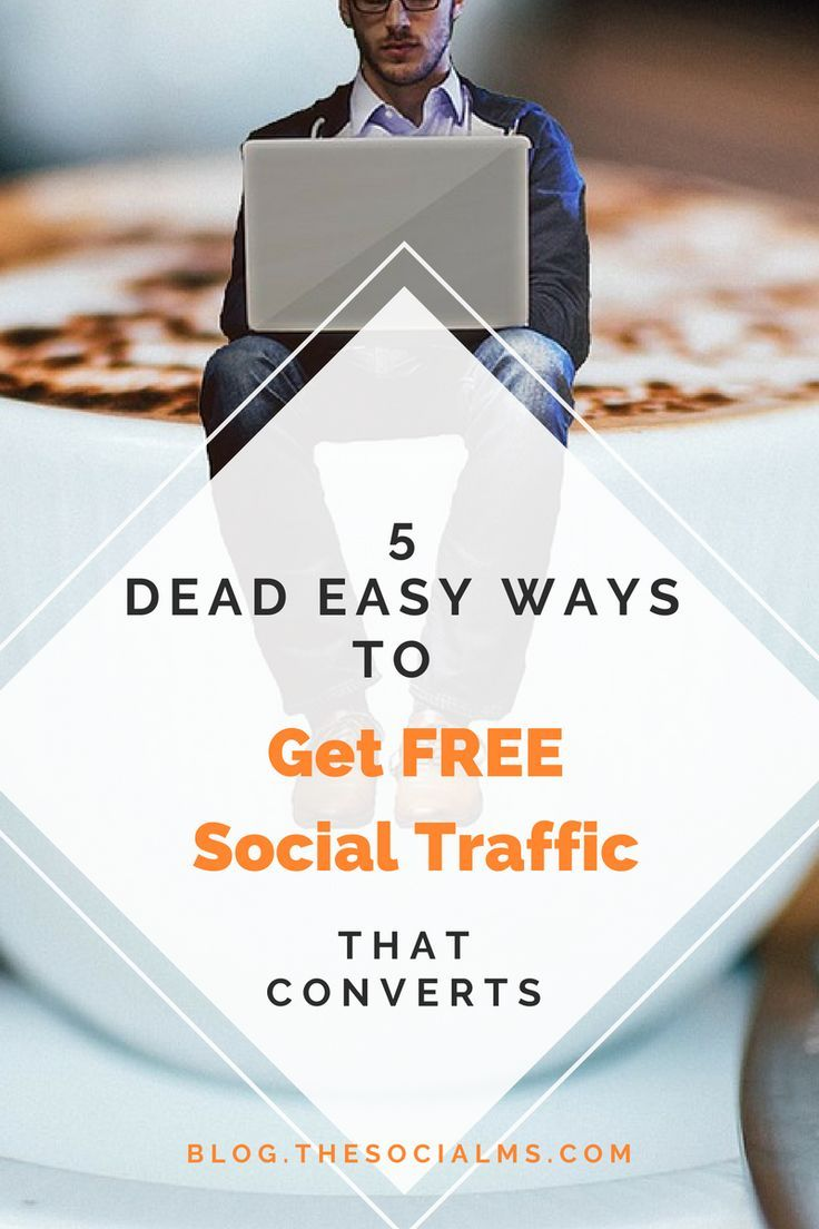 Social traffic is the best traffic in the world. It converts well and you can ha …   – Social Media Marketing