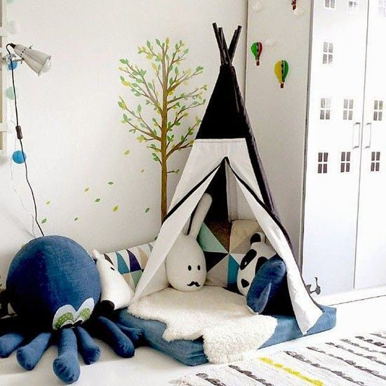 6 READING NOOKS FOR BOYS   Creating a quiet space for your son can be difficult but these examples are fantastic.