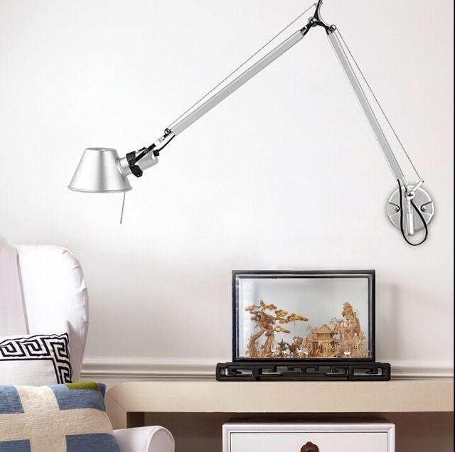 Moderne italië klassieke led e27 wandlamp thuis armatuur aluminium lampenkap muur verlichtingsarmaturen antieke blaker babykamer lustre