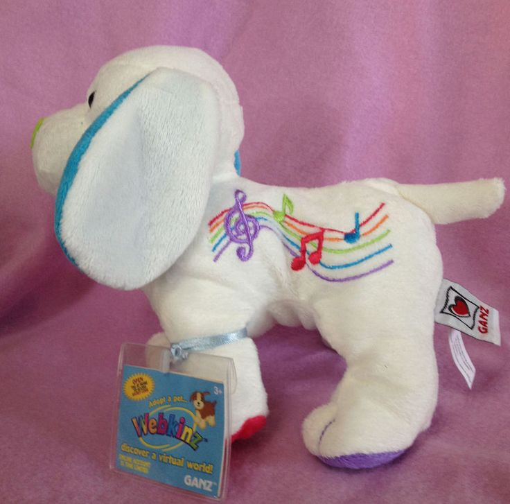 Webkinz Harmony Puppy New with Sealed tags #Webkinz