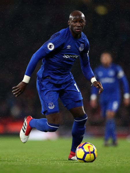 Eliaquim Mangala of Everton during the Premier League match between Arsenal and Everton at Emirates Stadium on February 3, 2018 in London, England.
