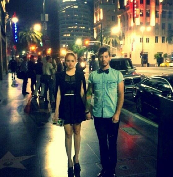 Josh Dun and his girl Debbie Ryan