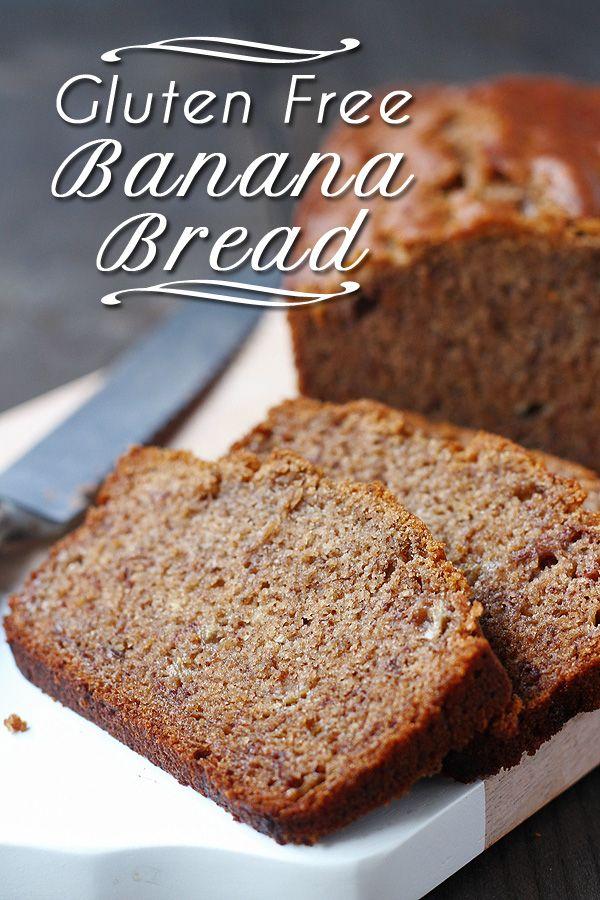 Super easy and super tasty Gluten Free Banana Bread. Dairy Free and Vegan, too!   tiaskitchen.com/gluten-free-banana-bread-dairy-free-and-vegan #GlutenFree #vegan #recipe