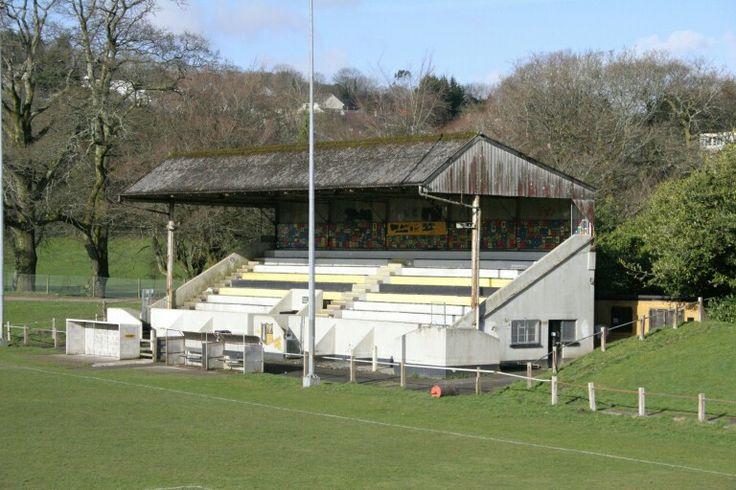 Priory Park, Bodmin Town of England in the 1980s.