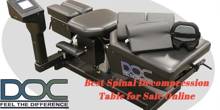 Find The Best Spinal Decompression Table for Sale Online - Spinal decompression table for sale online, to help the chiropractors and therapists have the upper hand at the practices and while dealing with their patients.