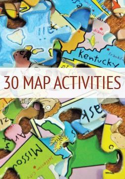 30 Educational Map Activities for Kids!