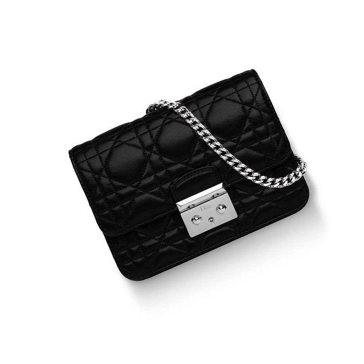 Dior - Miss Dior Promenade Mini Çanta Siyah - Altın - 15 #Dior #Dior-MissDiorPromenadeMini #Çanta