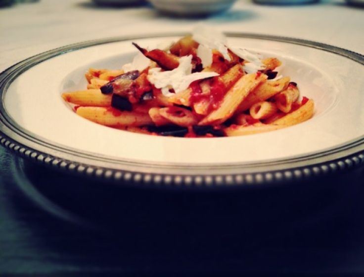 Pasta alla Norma on http://www.thetasteforfood.com