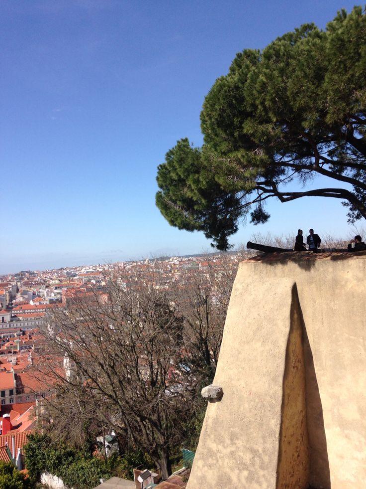 View from Castle de St Jorge