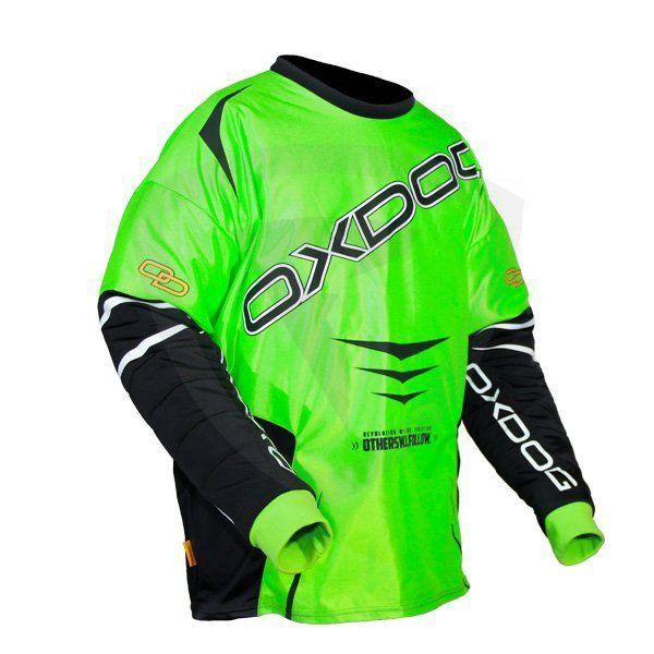 Oxdog Gate Green brankářský dres - Florbal.com