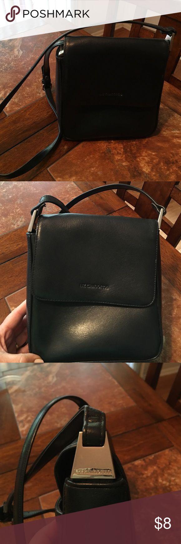 Liz Claiborne faux leather purse Liz Claiborne faux leather purse . Adjustable strap . Like new Liz Claiborne Bags Shoulder Bags