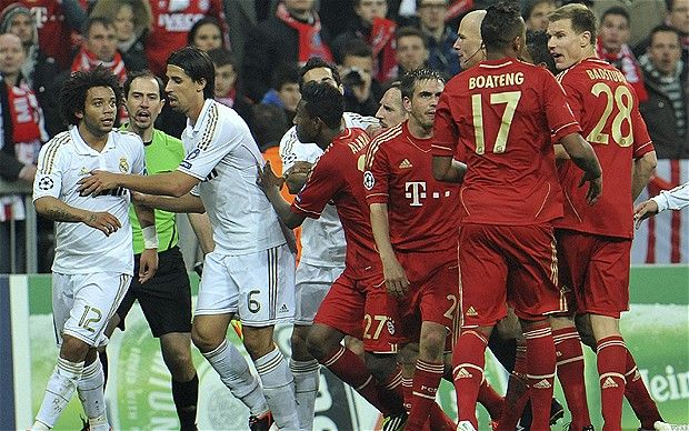Bayern Munich is Stunned by Real Madrid in UEFA Champions League. http://guardianlv.com/2014/05/bayern-munich-is-stunned-by-real-madrid-in-uefa-champions-league/