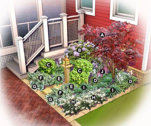 Shady Nook Garden Plan