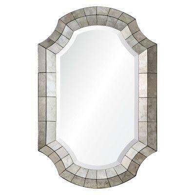 Emmanuelle Framed Octagon Mirror