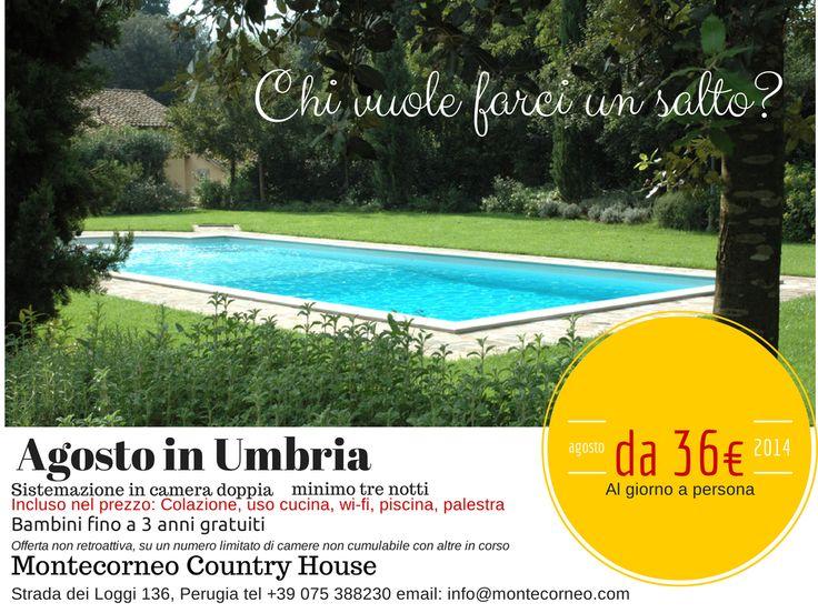 Che ne pensate di andare in #vacanza? Vi aiutiamo a scegliere #Umbria #Perugia #Countryhouse