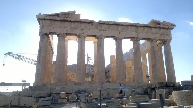 The Parthenon at Acropolis Athens, Greece