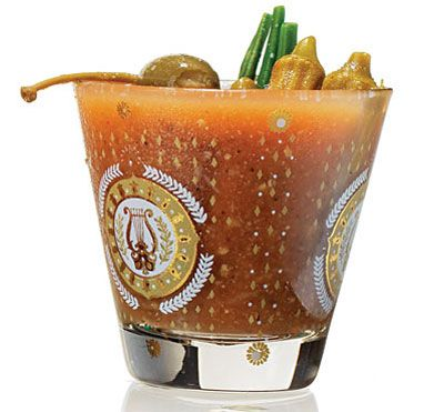 Classic Drinks from New Orleans ...Cajun Bloody Mary                                  		                                                                                                                                                                                                           For this drink, we've adapted a recipe from the restaurant Cochon in New Orleans