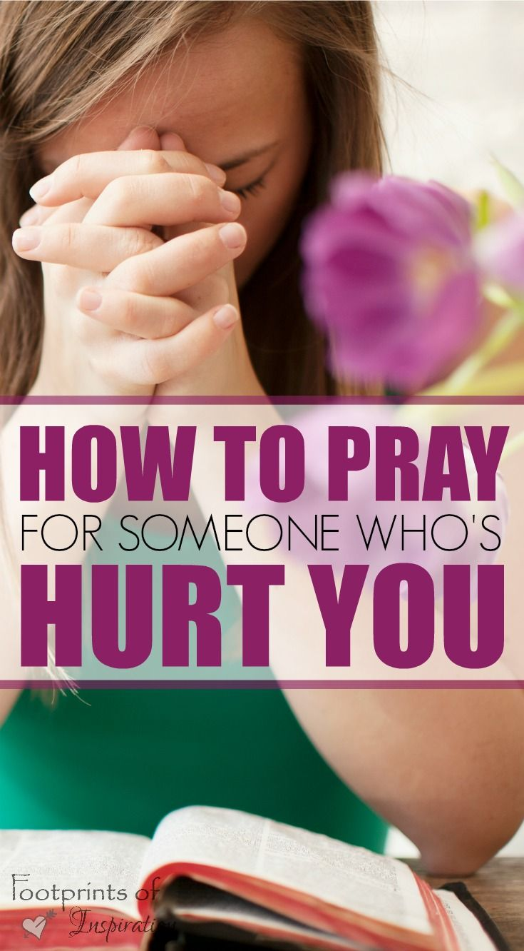 We've all been hurt from time to time. When learning how to pray for someone who's hurt you, God will teach you so much more about yourself.  Walking in faith with Jesus will help you find true comfort and peace that only He can provide.