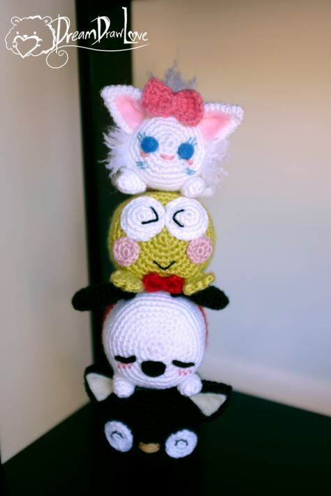 Tsum Tsum Dolls - visit my shop to get your own today! https://www.etsy.com/nz/shop/DreamDrawLove