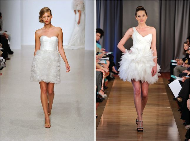 If you want to get one of best short wedding dresses 2013 you should browse trough this page. You will surely find the one that will look great on you.Fashion Weeks, Wedding Dressses, Sophisticated Brides, Wedding Blog, Latest Fashion Trends, Dresses 2013, Shorts Dresses, Bridal Fashion, Bridal Wedding Dresses