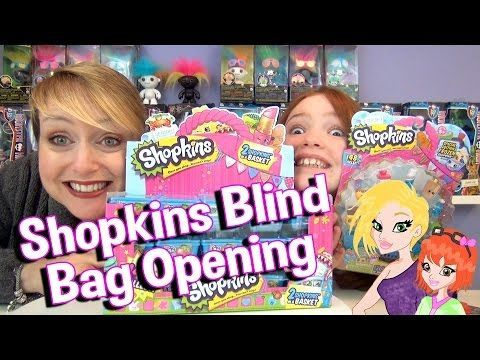 Opening a Whole Case of Shopkins Blind Baskets - Wow!!!
