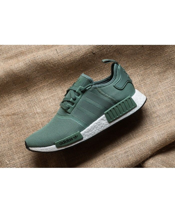 5cc642ebf Adidas NMD R1 Trainers In Trace Green