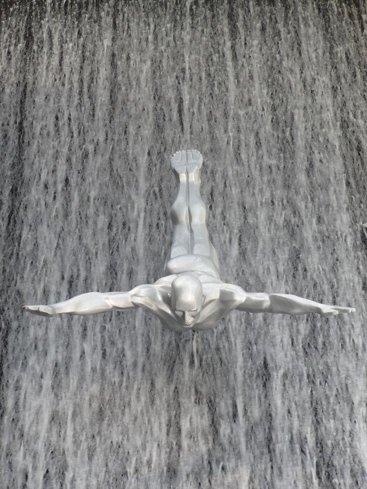 The Waterfall in Dubai Mall