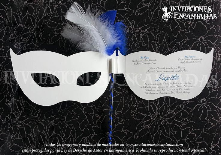 Quinceaños de Mascaras venecianas - Google Search