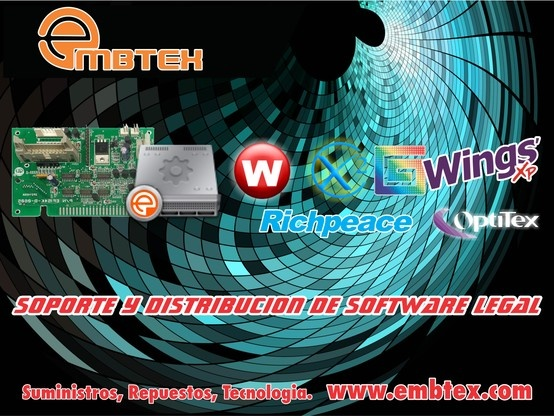 sistemas de transmisión, usb para maquinas de bordado. www.embtex.com