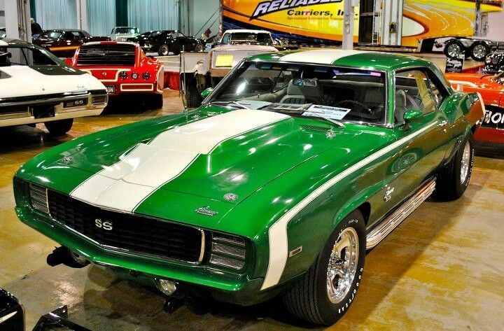 1969 Chevrolet Camaro Rs Ss Rally Sport Super Sport