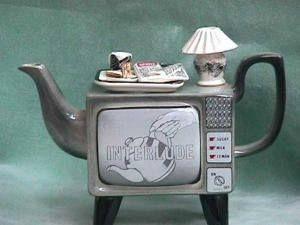 Retro TV Set Teapot.